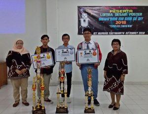 Para Pemenang Lomba Desain AKPRIND 2018