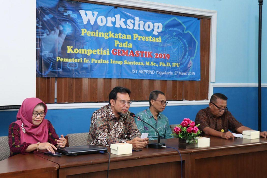 Workshop Peningkatan Prestasi Kompetisi GEMASTIK 2019
