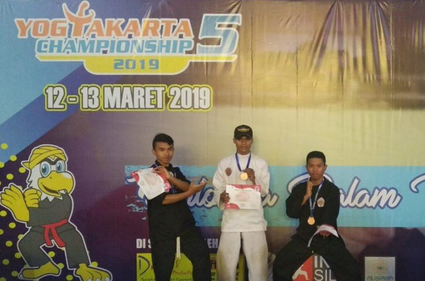 """Syahrul Gunawan Raih Medali Pada Kejuaraan Pencak Silat """"Yogyakarta Championship 5"""""""