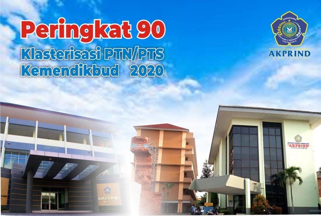 IST AKPRIND Peringkat 90 dari 2.136 PTN/PTS se-Indonesia