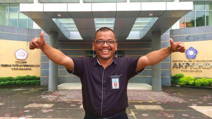 Edhy Sutanta, Alumni yang kini Menjadi Nahkoda IST AKPRIND